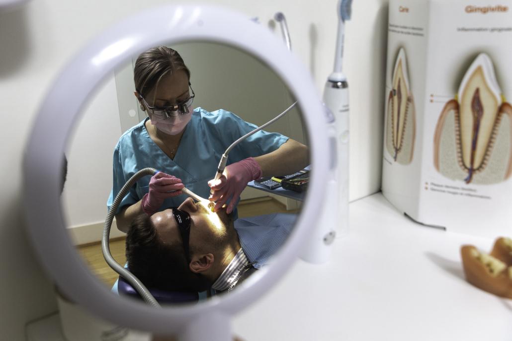 Dental hygienist Genevra